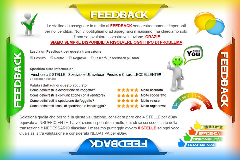 Feedback positivo garantito