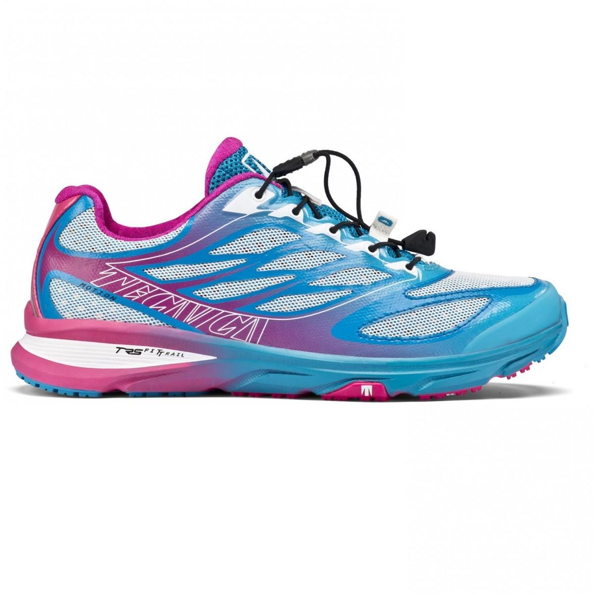 Tecnica   Motion Fitrail Ws   scarpe trail running donna fucsia/azzurro