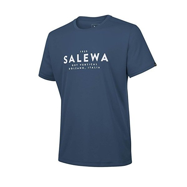 Salewa Puez Graphic Dry M T-Shirt uomo - blue