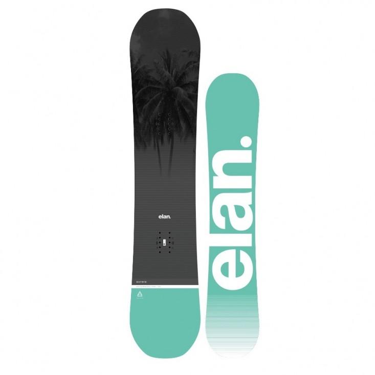 Elan Aurora 2018 - tavola snowboard donna | Mancini Store
