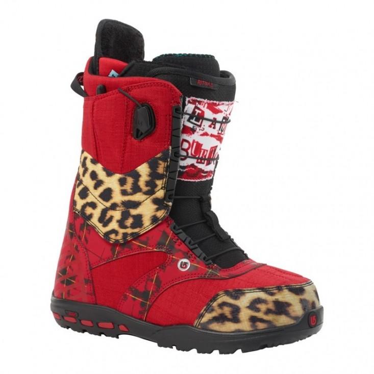 Burton Ritual - scarponi snowboard donna - rossi