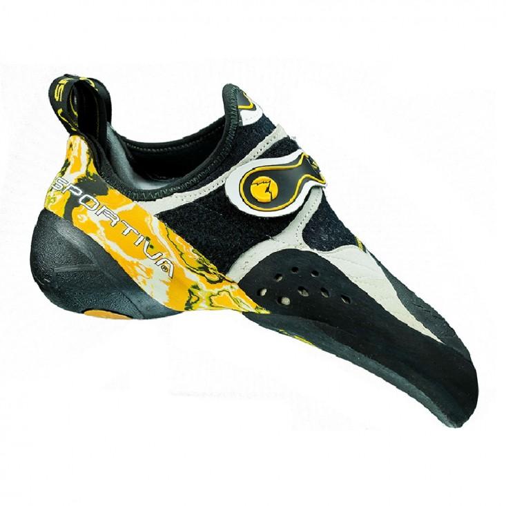 La Sportiva Solution - Scarpette arrampicata - nero giallo | Acquista su Mancini Store