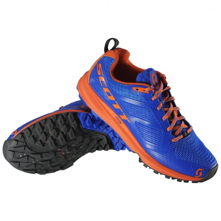 Kinabalu Enduro Scarpe Scott trail running uomo Blue Orange