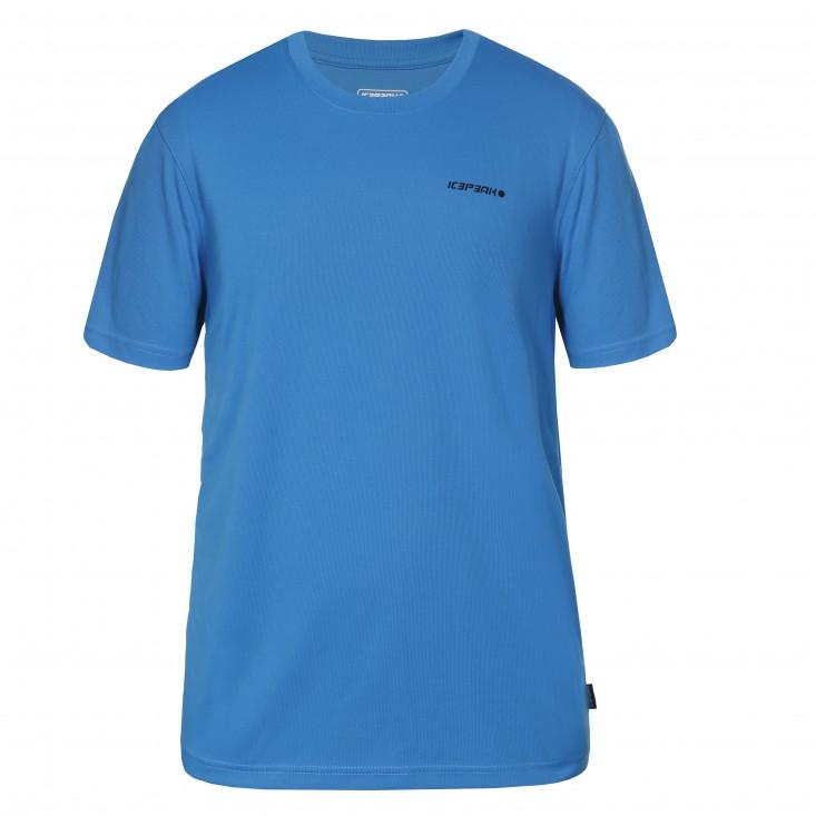 Icepeak Revald t-shirt maglietta uomo manica corta blue