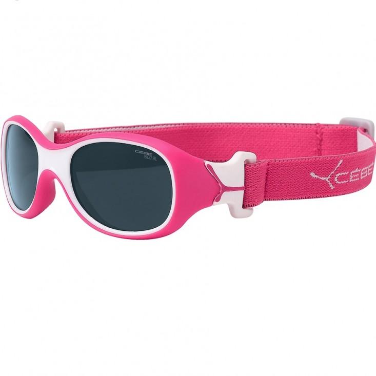 Cébé Chouka - occhiali da sole bambino con fascia elastica - Rapsberry su Mancini Store