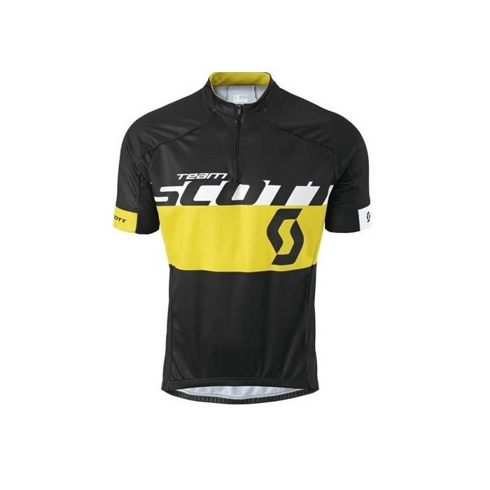 Scott RC Team - maglia ciclismo uomo - nera/gialla - Mancini Store