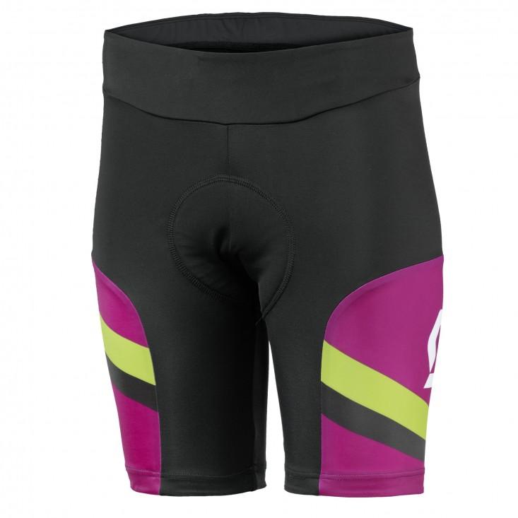 SCOTT Short Ws Endurance - pantaloncini ciclismo donna neri/viola   Mancini Store