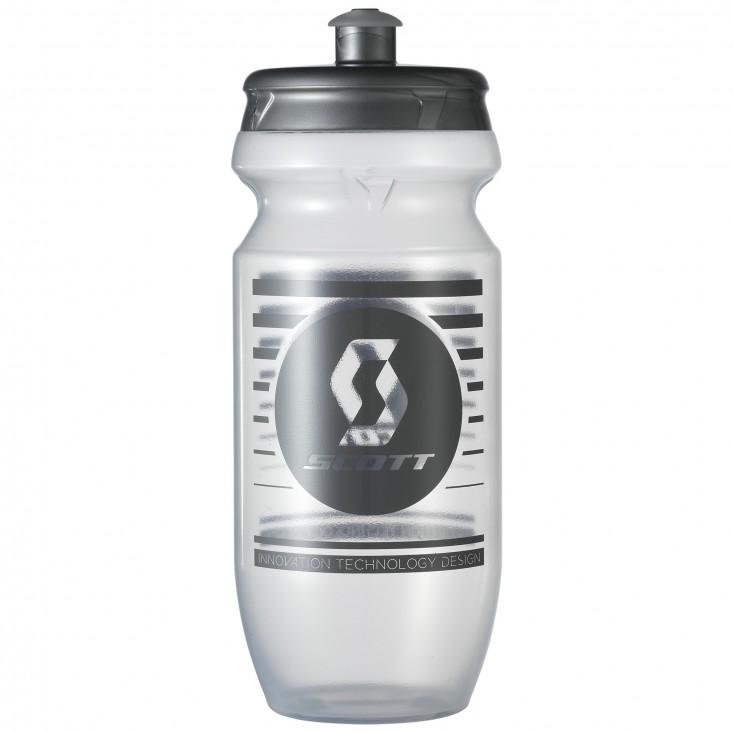 Borraccia ciclismo Scott Water Bottle 0.55  Anthracite Clear su Mancini Store