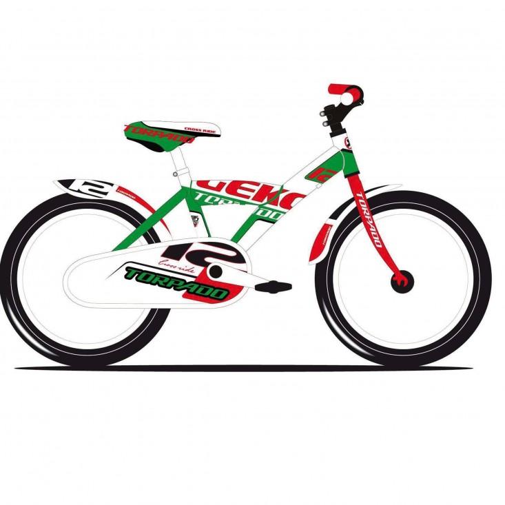 Torpado Jeko T690 Jr 12 bici bambino verde | Mancini Store