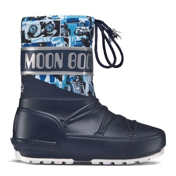 Doposci Moon Boot Pod SW Droid Bambino Blue su Mancini Store