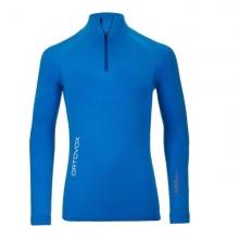 Ortovox 230 Competition Zip Neck maglia intima uomo blue da Mancini Store