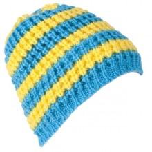 Cappello Poc Stripped Beanie sci snowboard giallo blue da Mancini Store