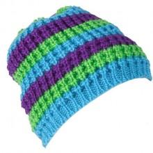 Cappello Poc Stripped Beanie snow blue verde viola da Mancini Store