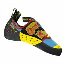 Scarpe da arrampicata La Sportiva Oxygym blu rosse da Mancini Store