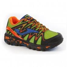 J Trek Junior scarpe trail running bambino fluor