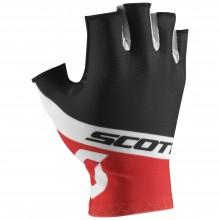 Scott RC Team SF guanti ciclismo rosso-nero