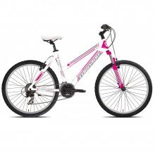 Torpado Storm T591 21 V mountain bike donna bianca-fuxia | Mancini Store