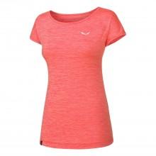 Salewa Puez Melange Dry W S/S coral T-Shirt manica corta donna