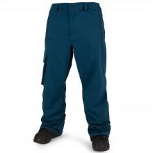Volcom Ventral Pant - pantaloni snowboard uomo - blue d4ad7b4a279a