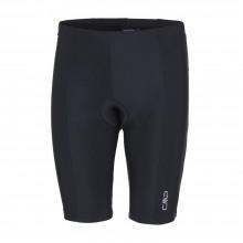 CMP Man Shorts Bike - pantaloncino ciclismo uomo nero  | Mancini Store