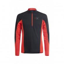 Montura Outdoor Pocket Zip T-Shirt nera/rossa | Mancini Store