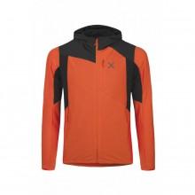 Montura Light Pro Pile Jacket - giacca uomo secondo strato - aragosta | Mancini Store