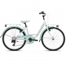 Kally MTB 24 6V Green Bicicletta Estate 2018