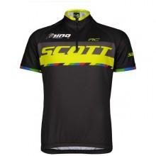 Scott RC Pro Junior - maglia ciclismo bambino nera/gialla | Mancini Store