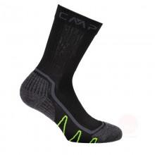 Cmp Calze trekking lunghezza media - Sock Poly Medium grigie | Mancini Store