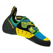 La Sortiva Nitrogym - Scarpe arrampicata - blue/verdi su Mancini Store