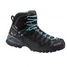Salewa Alp Trainer Mid Gtx scarponcino trekking donna black out/agata
