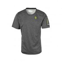 Scott Shirt Trail Mtn Crew - maglia bici manica corta uomo - grigia - Mancini Store