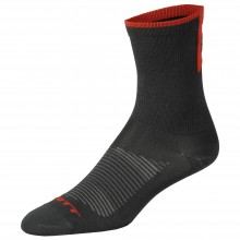 Scott Calze ciclismo lunghe | Socks Road Long - nero/rosso | Mancini Store