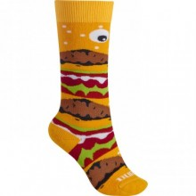 Calze da montagna per bambino Burton Youth Party Socks Burger Deluxe da Mancini Store