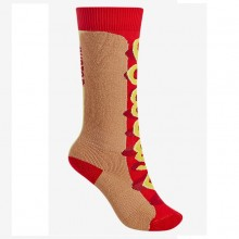 Calze da Montagna per bambini Burton Youth Party Socks Hot Dog da Mancini Store