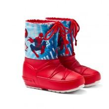 Moon Boot Pod Spiderman bambino rosso blu da Mancini Store