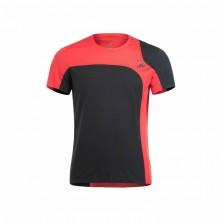 Montura Outdoor Style T-Shirt uomo nera rossa | Mancini Store