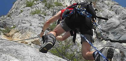 Attrezzatura arrampicata sportiva