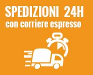 Spedizioni rapide 24/48 ore in tutta Italia