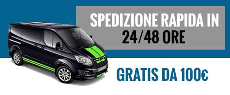 Spedizione rapida in 24/48 ore - Mancini Store