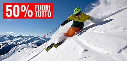 Vendita sci online a metà prezzo