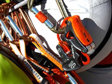 Equipaggiamento e attrezzatura da arrampicata sportiva