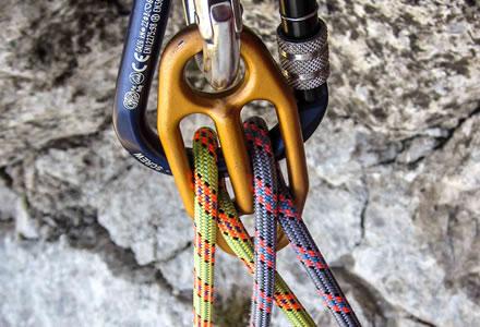 Rinvii per arrampicata per arrampicata sportiva