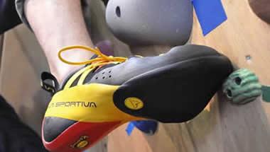 Scarpe da arrampicata sportiva