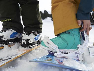 Attacchi da Snowboard