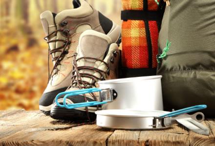 Accessori stoviglie e materiale da campeggio
