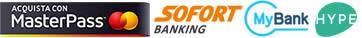 Metodi di pagamento - MasterPass, MyBank, Sofort Banking, Hype Wallet