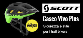 Casco-bici Scott Vivo Plus con sistema di sicurezza MIPS