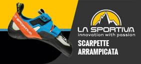 Scarpe arrampicata