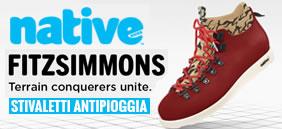 Scarpe Native Shoes - Stivaletti Antipioggia